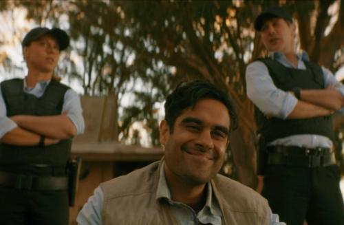 """Sacha Dhawan in """"Spyfall"""""""